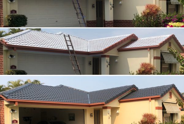 roof restorations services before during and after